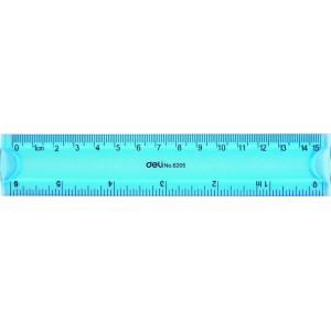 Rigla flexibila color, 30 cm, Deli - ACOMI.ro