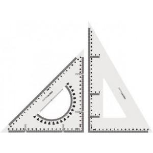 Set 2 Echere transparente, 28cm, Deli - ACOMI.ro