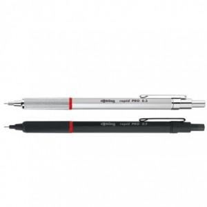 Creion mecanic 0.5mm, argintiu, Rapid Pro Rotring - ACOMI.ro