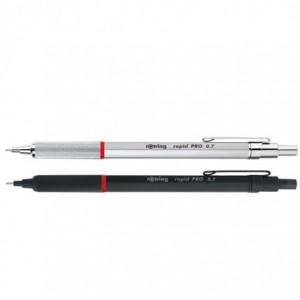Creion mecanic 0.7mm, argintiu, Rapid Pro Rotring - ACOMI.ro