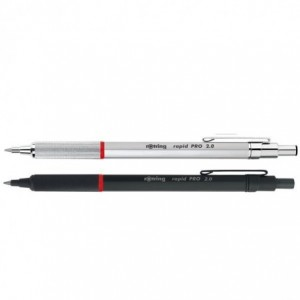 Creion mecanic 2mm, negru, Rapid Pro Rotring - ACOMI.ro