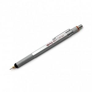 Creion mecanic 0.7mm, argintiu, RO800 Rotring - ACOMI.ro