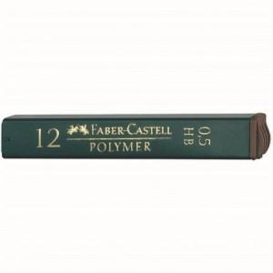 Mina creion 0.5mm, 2B, Polymer Faber-Castell - ACOMI.ro