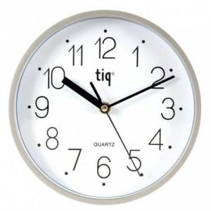 Ceas de perete TIQ D-225, rama argintie