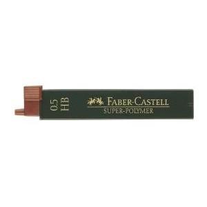 Mina creion 0.5mm, HB, Super-Polymer Faber-Castell - ACOMI.ro
