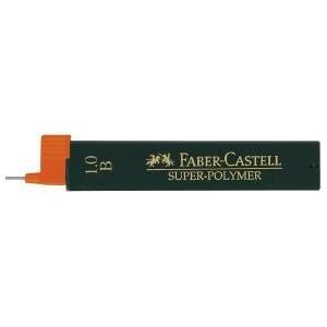 Mina creion 1.0mm, B, Super-Polymer Faber-Castell - ACOMI.ro