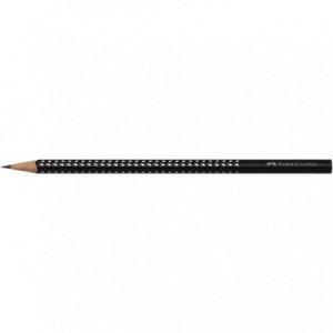 Creion grafit mina B, negru, Sparkle Faber Castell - ACOMI.ro