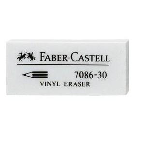 Radiera creion 31 x 15 x 11,5 mm, 7086 Faber Castell - ACOMI.ro
