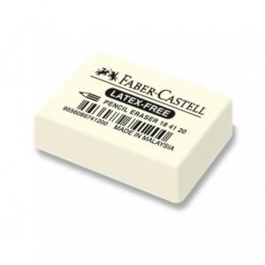 Radiera creion 40 x 27 x 13 mm, 7041-20 Faber Castell - ACOMI.ro