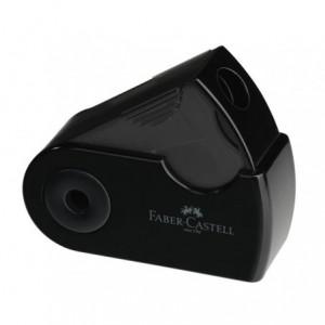 Ascutitoare plastic simpla, negru, Sleeve-Mini Faber Castell - ACOMI.ro