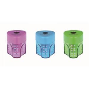Ascutitoare plastic simpla, Grip Pastel Faber Castell - ACOMI.ro