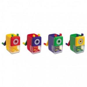 Ascutitoare cu mecanism, diverse culori, Faber Castell - ACOMI.ro