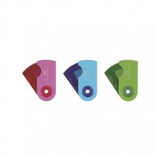 Ascutitoare plastic simpla, pastel Sleeve-Mini Faber Castell - ACOMI.ro