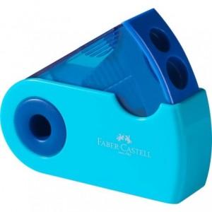 Ascutitoare plastic dubla, Sleeve Trend Faber Castell - ACOMI.ro
