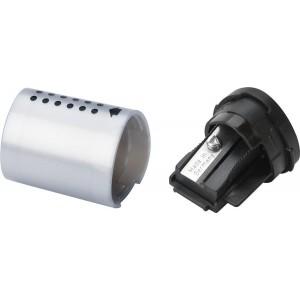 Ascutitoare gri, Grip 2001 Mini Faber Castell - ACOMI.ro
