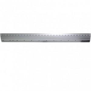 Rigla aluminiu, 30cm