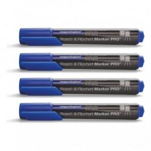 Marker whiteboard MAGNETOPLAN albastru 4/set - ACOMI.ro