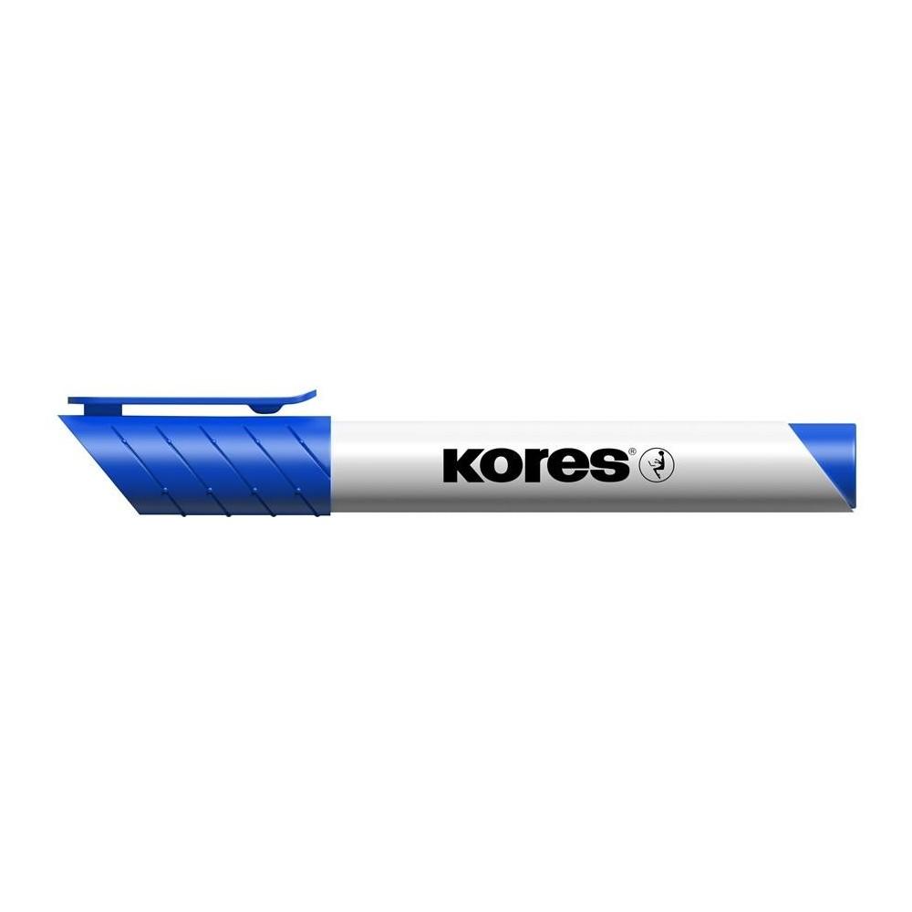 Marker whiteboard, 3mm, albastru, Kores - ACOMI.ro