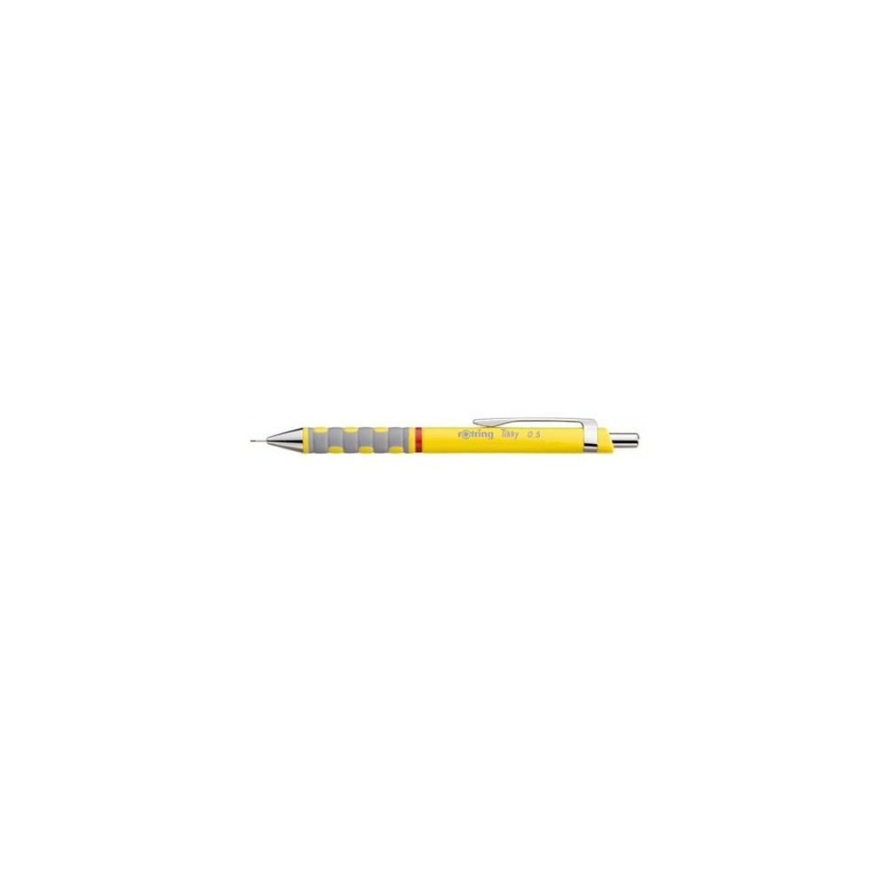 Creion mecanic Rotring Tikky 3 galben, 0,5mm