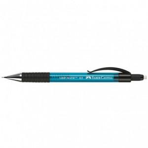Creion mecanic 0.5 mm, Faber Castell Grip Matic - albastru
