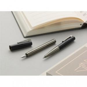 Stilou de lux Loom Gunmetal Mat F Faber-Castell - ACOMI.ro