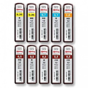 Mine creion mecanic ROTRING HB 0,7mm