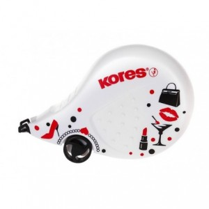 Banda corectoare 4.2mm x 8m Black&White Kores - ACOMI.ro