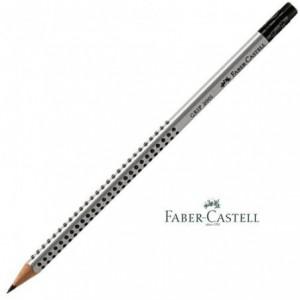 Creion grafit HB, cu radiera, FABER CASTEL Grip 2001