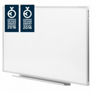 Whiteboard magnetic 1800 x 1000 mm Ferroscript Magnetoplan - ACOMI.ro