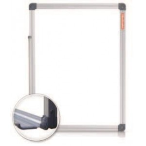 Tabla magnetica 120 x 240 cm, rama aluminiu, Classic Memoboards - ACOMI.ro