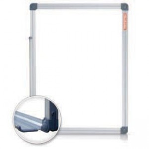 Tabla magnetica 50 x 60 cm, rama aluminiu, Classic Memoboards - ACOMI.ro