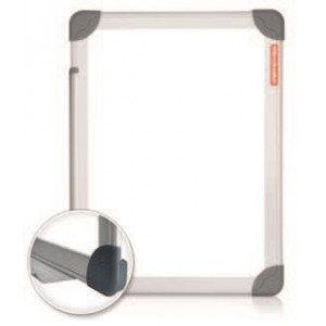 Tabla magnetica 120 x 200 cm, rama aluminiu, Future Memoboards - ACOMI.ro