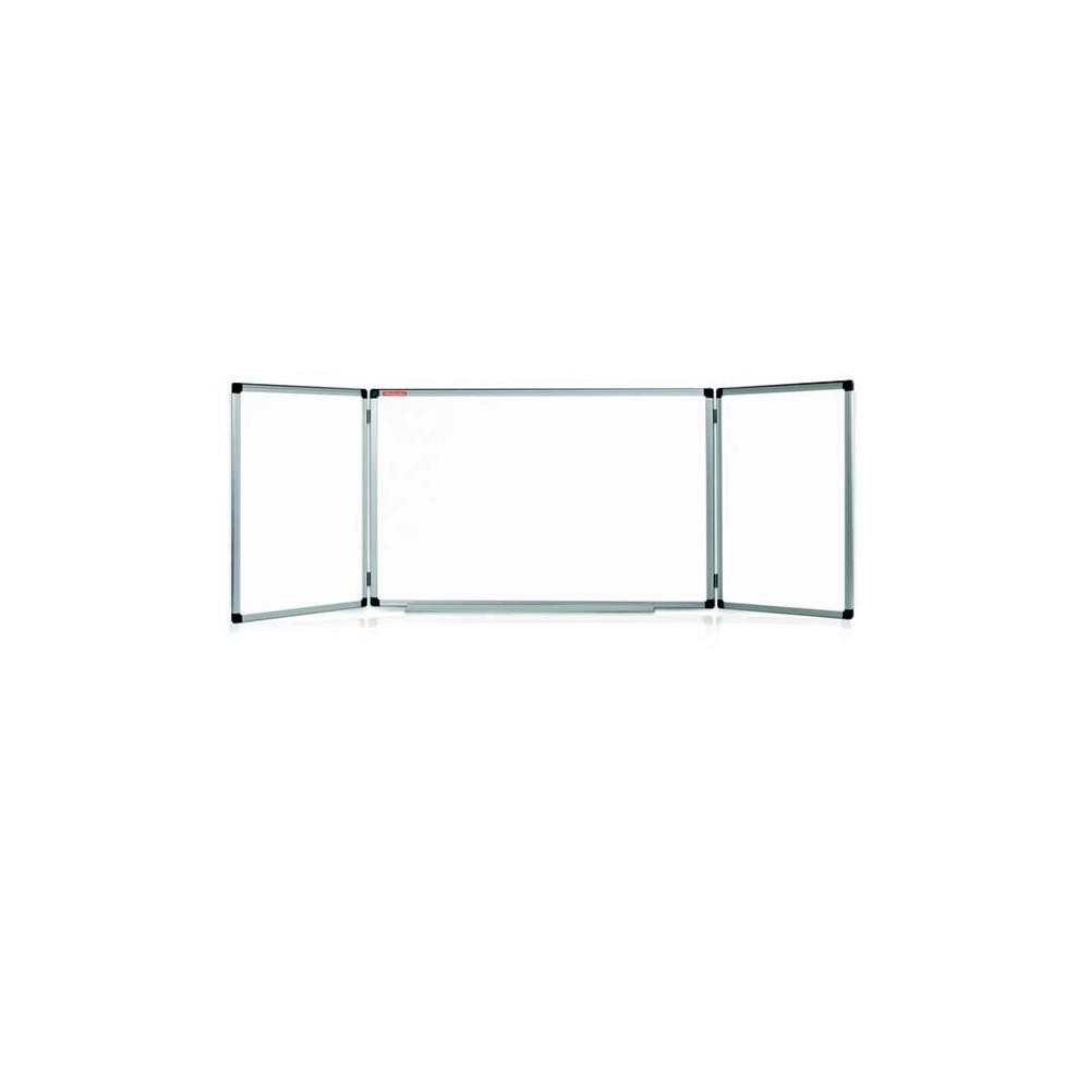Tabla magnetica 100 x 170 cm, rama lemn color, Triptic Memoboards - ACOMI.ro