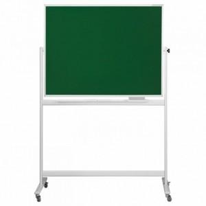 Tabla scolara SP pentru scris cu creta 150 x 100 cm, pe stand mobil - MAGNETOPLAN - ACOMI.ro
