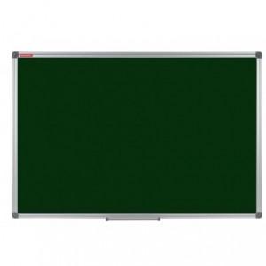 Tabla magnetica scolara, verde,  120 x 240 cm, rama aluminiu MEMOBOARDS Classic - ACOMI.ro