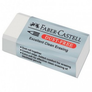 Radiera FABER CASTELL dust free