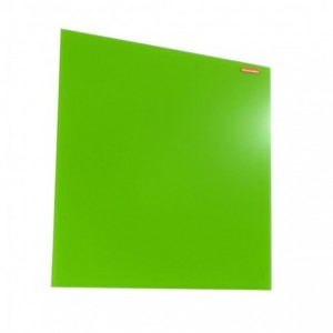 Tabla din sticla magnetica 45x45 cm Memoboards - verde - ACOMI.ro
