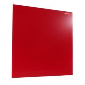 Tabla din sticla magnetica 45x45 cm Memoboards - rosu - ACOMI.ro