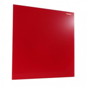Tabla din sticla magnetica 40x60 cm Memoboards - rosu - ACOMI.ro