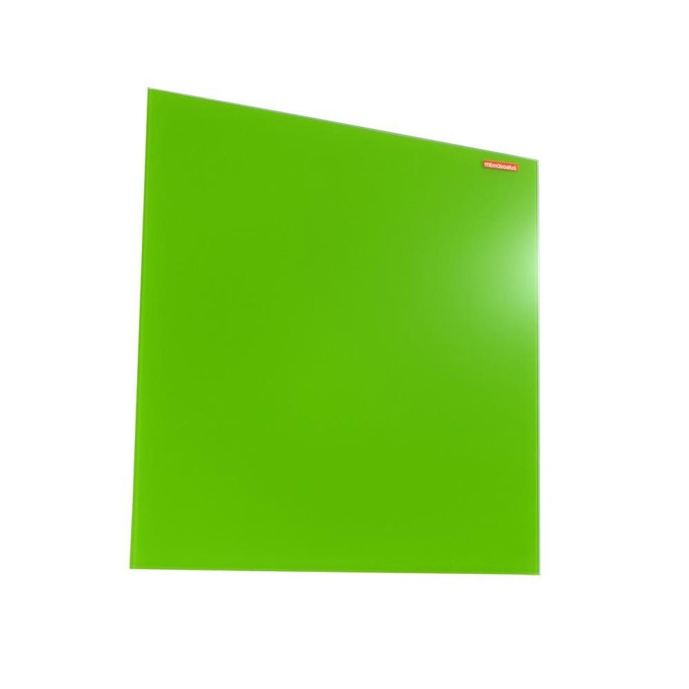 Tabla din sticla magnetica 60x90 cm Memoboards - verde - ACOMI.ro
