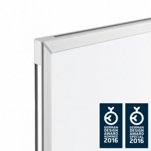Whiteboard mobil, 500 x 1000 mm, CC MAGNETOPLAN - ACOMI.ro