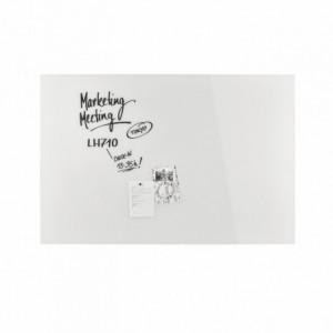 Design Glassboard magnetic alb, 150 x 100 cm, MAGNETOPLAN - ACOMI.ro