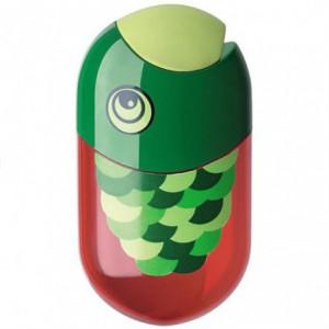 Ascutitoare cu radiera, modele Fish - Faber Castell