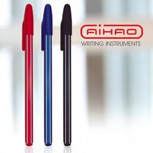 Pix de unica folosinta AIHAO 0,7mm, 50buc/cutie - rosu
