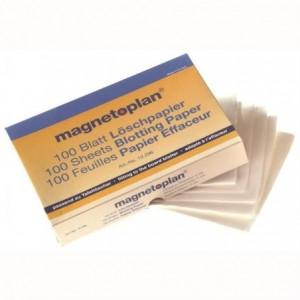 Servetele rezerva 100 buc/set pentru burete magnetic Magnetoplan - ACOMI.ro
