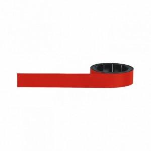 Banda magnetica rosu 1000 x 15mm MAGNETOPLAN - ACOMI.ro