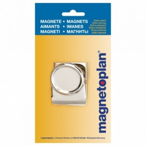 Magneti CLIPS silver  MAGNETOPLAN - ACOMI.ro