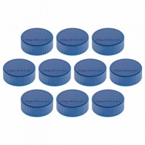 Magneti Ø 34mm, albastru 10 buc/set, Discofix MAGNUM MAGNETOPLAN - ACOMI.ro