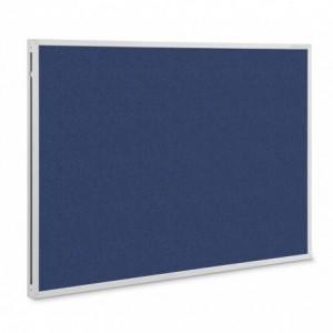 Panou textil MGN SP rama aluminiu, 1200 x 900 mm, albastru - ACOMI.ro