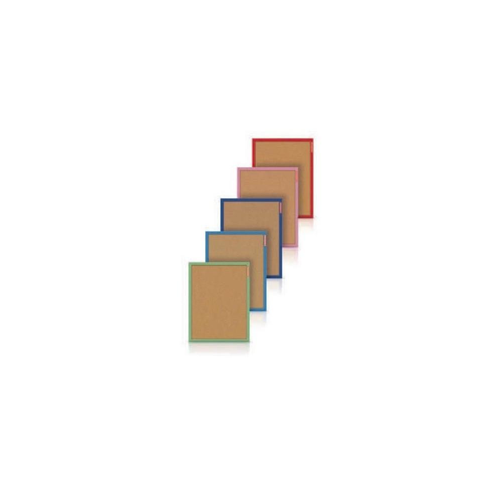 Panou pluta 40x60cm cu rama color Memoboards - ACOMI.ro